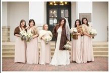 Wedding Dresses & Bridesmaid Dresses / Wedding dresses, bridesmaid dresses, details, color schemes.. everything you need to don on your big day!