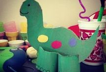 Dinosaur Roar! / Books, crafts, activities, etc. related to dinosaurs