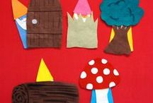 Flannel Boards / Flannel board ideas for library story times.