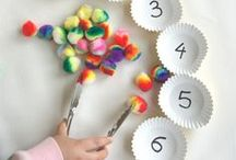 Math / Activities and ideas to help promote early numeracy in little ones and math skills in older kids