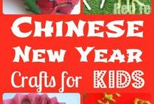 Chinese New Year / Crafts and books for celebrating Chinese New Year