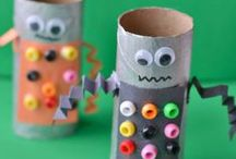 Green Crafts / Crafts that reuse and recycle common household items
