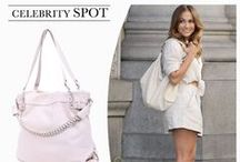 Celebrity Spot / Get their look with our stylish women's handbag range.