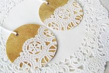 Doily crazy / So many great DIY ideas for crochet and paper doilies!