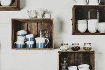 Déco cuisine | DIY / Les petits plus déco d'une cuisine, simples et faciles à mettre en place
