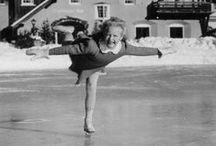 Ice skating/roller skating:BLACK AND WHITE / by Ellinor Österberg