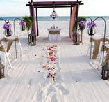A Burlap Beach Wedding