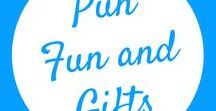 Pun and Fun Gifts / Looking for some fun gifts for family or friends? Find a tons of them here