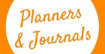 Planners and Journals / Planning and recording daily tasks, goals and other to-dos is important for success. These cute DIY planners are fun and relaxing to make.