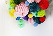 Party Decor / This is my favourite Pinterest board!  Here is a collection of fabulous ideas for decorating your next party or event.