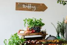 Buffet Styling / Inspiration for styling buffets at parties and other events.