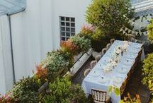 Outdoor Entertaining / A collection of beautiful outdoor settings, perfect for picnics, bbq's and receptions.