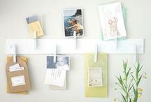 My Dream Stamp Space / I'm a demonstrator for Stampin' Up and I work out of a tiny 8x8 room with virtually no wall space. Someday I'll have the spacious craft room of my dreams, and I'll be able to implement all these fabulous storage and display ideas I've been collecting! / by Song of My Heart Stampers