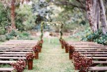 Weddings in the Garden / A collection of inspiring garden weddings.