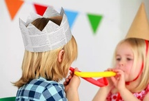 Children's Parties / Fun and inspiring ideas for hosting children's parties. / by Madame Bonbon
