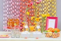 Super Fab Party Decor / I looooove to entertain! I have thrown too many parties to count--big ones for church, appetizers for stamping events, finger food for themed kids' parties, even some small chic dinner parties. Hope you love these quick and fab party decoration ideas I have collected! I can't wait to use some of them! / by Song of My Heart Stampers