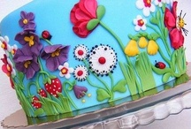 Fancy Cakes! / Somewhere where I can put all the fancy pants cakes I find. Wish I was this talented! / by Sarah DV