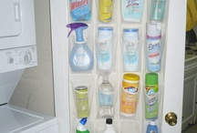 Storage Ideas that ROCK / I live in a snug little house built during the era when one outlet per room was plenty--and the closets are only 10 inches deep! Organization is a survival skill for many moms, myself included. Hope you love the ideas I've been putting aside to try in our love-filled bitty bungalow.