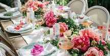 Garden Party / Floral trends that inspire for the perfect soiree.