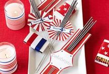Red, White & Beautiful / Inspiration for your all-American fashion finds.