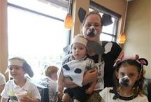 "Cow Appreciation Days / What to see what others are doing on Cow Appreciation Day? Well...here ya go! These are all from ""cow"" visitors  to Chick-fil-A at Houston Road, Florence, KY"