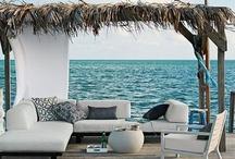 Terraces Patios & Decks / Living Outdoors / by Susan Garnett