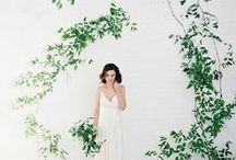 Wedding Arches + Backdrops / A collection of unique backdrops and arches for your wedding ceremony.
