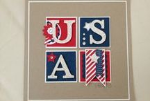 Patriotic Papercrafts / by Song of My Heart Stampers