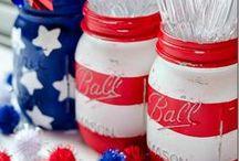 Patriotic Decor / July 4th Decorating