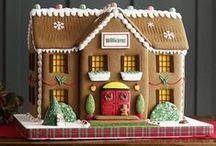 Gingerbread Architecture / Building gingerbread houses can be a fun and creative way to teach the fundamentals of architectural styles.