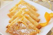 Crêpes de la chandeleur / Des crêpes suzettes, des crêpes au sucre, des crêpes vite faites... Bonheur de février !
