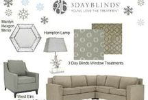 Get the Look! / Inspired by a beautiful room? Get the look here to find your favorite home decor items!  / by 3 Day Blinds