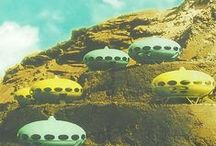 querky Homes / Wacky and Wierd Houses that I'd love to live in.