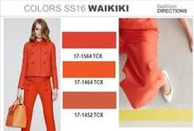 Colors / Colors in Fashion / by Fashion Directions