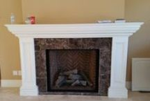 Contemporary Fireplaces / Our contemporary fireplaces are designed and installed by our team of highly skilled professionals.
