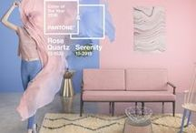 Rose Quartz and Serenity / Pantone Color of the Year is not one but two colors.  Rose Quartz and Serenity.  Here's how to use them in your decor... / by 3 Day Blinds