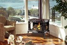 Freestanding Stoves / Check out the selection of wood burning stoves from The Energy House with locations in Gilroy, San Carlos, and Campbell, CA!