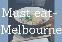 Melbourne's Best Eats! / The best recommendations for great food and drink in Melbourne Australia.