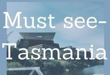 Must See- visiting Tasmania / Travel in Tasmania. The best food, drinks and attractions to see on the apple isle!