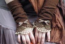 Szydełkowe - Rękawiczki