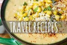 Travel Recipes / What to cook when you come back from traveling abroad, and what to cook while you're traveling abroad! Travel and wanderlust inspired recipes for delicious ethnic and foreign foods.