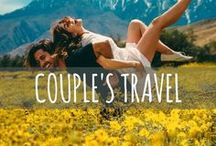 Couple's Travel / Travelling as a couple, romantic getaways, honeymoon destinations, how to survive travelling together, and other useful travel tip!