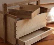 Caisses à outils en bois