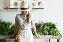 Outdoor Garden / Adventures in gardening. Small plants and flowers in a pot, to fields of golden corn. Greenhouses, DIY and building projects.  / by Christa | Winsome & Green