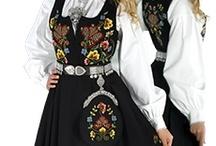 Norwegian womens bunad