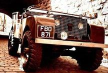 Landy's / Inspiration for my '67 Landrover Series 2A and current model Defender 90. / by Steve Pickering