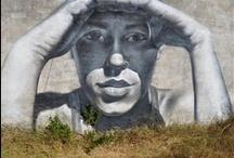 GRAFFITIS O ARTE CALLEJERO / by Pilar Sánchez Robles