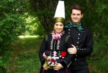 Traditional wedding costumes of the world