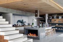 Kitchens divine / I love light and sunny kitchens - no dark corners here. Let the sun in ...