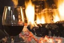 winter ♥ log cabin ♥ chalet / Winter time is snuggle time ... and time for comfort food